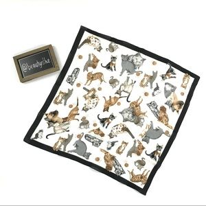 "Accessories - Vintage ""Cat lady"" scarf"